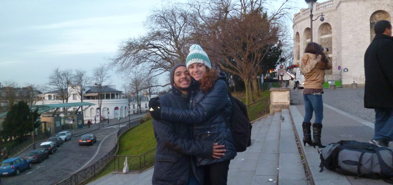 Tom e Carol em Paris