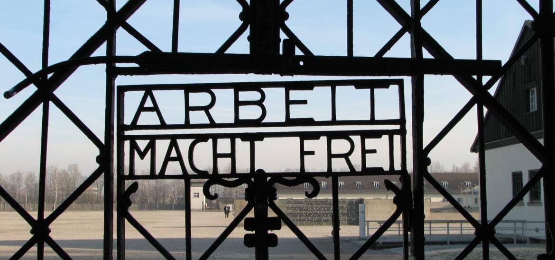 Portão do Campo de Concentração de Dachau