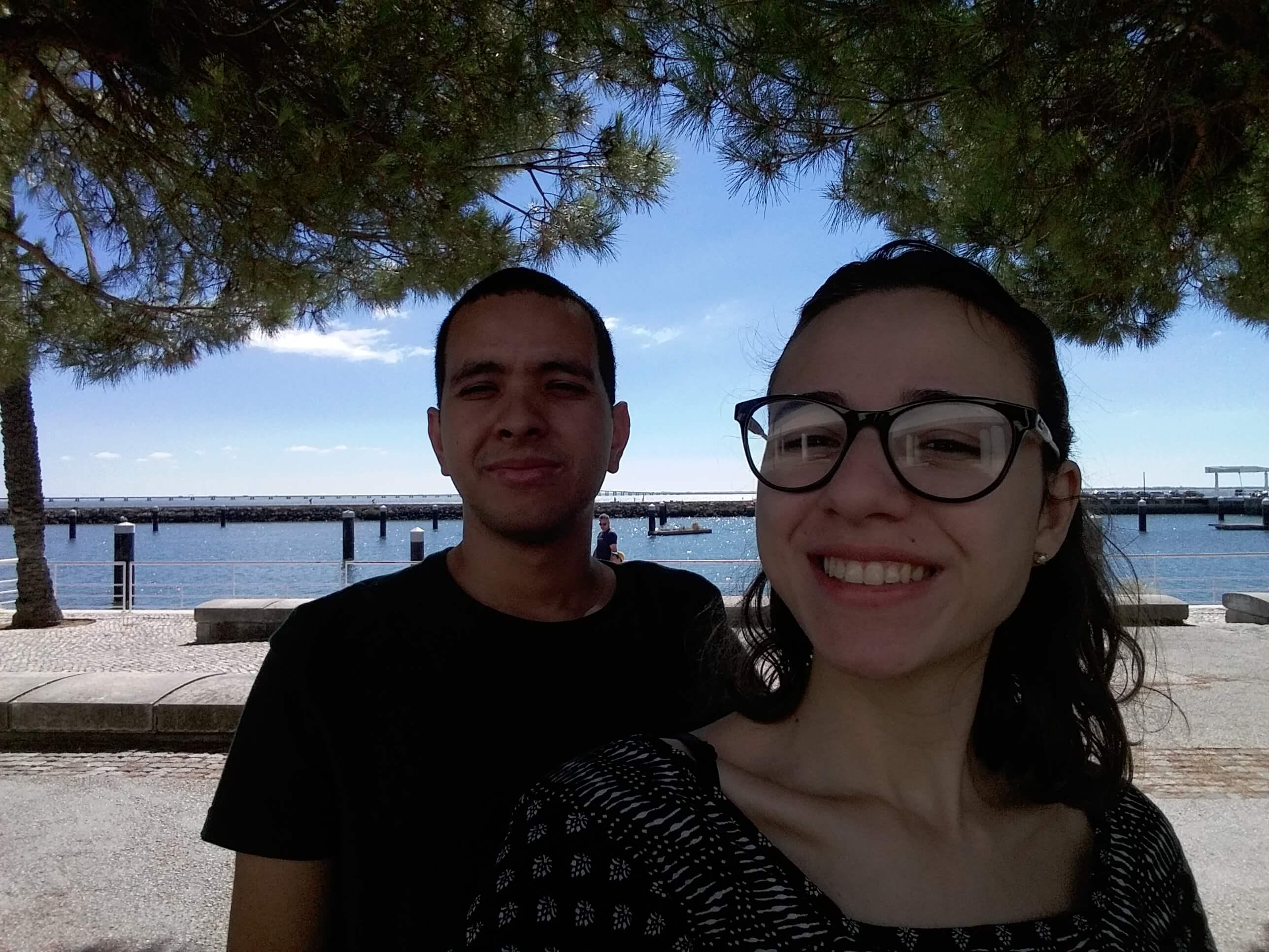 Carol e Tom em Lisboa