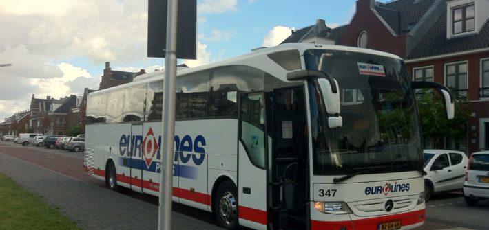 Viajar de ônibus pela Europa