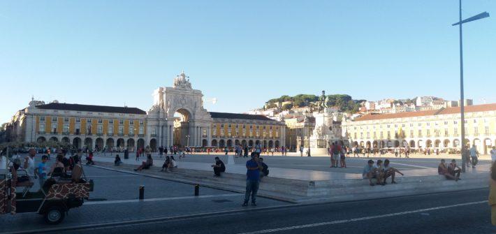Praça do Comércio - Lisboa em três dias
